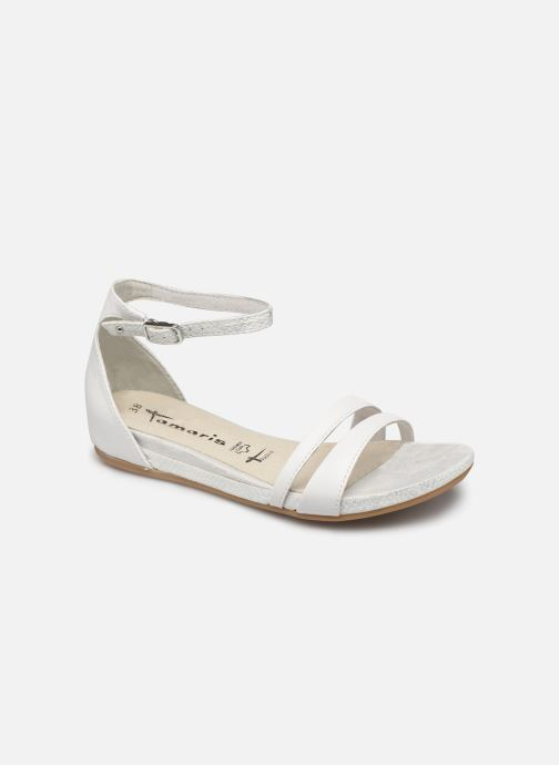 Sandales et nu-pieds Tamaris Micaela Blanc vue détail/paire