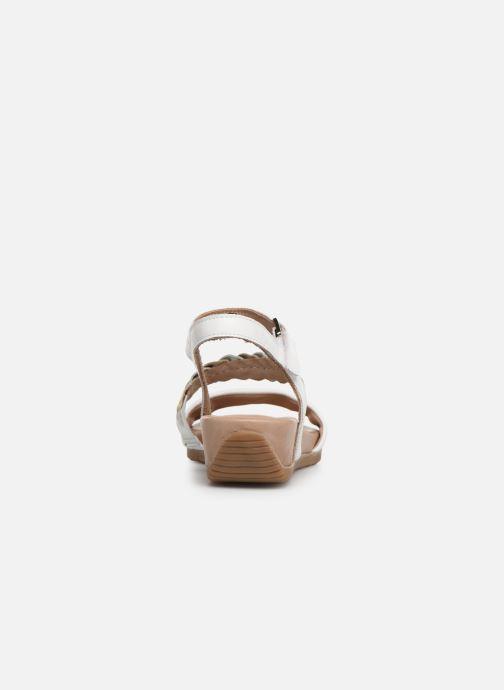 Sandales et nu-pieds Tamaris Palma Blanc vue droite