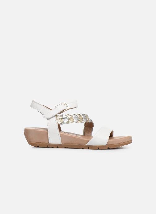 Sandales et nu-pieds Tamaris Palma Blanc vue derrière