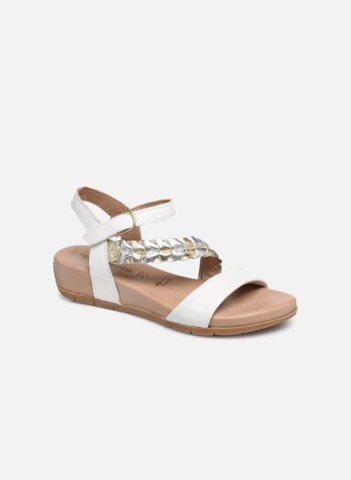 Sandales et nu-pieds Tamaris Palma Blanc vue détail/paire