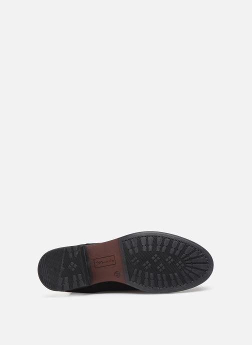 Sandales et nu-pieds Tamaris Palma Noir vue haut