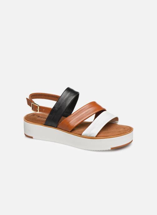 Tamaris Maya (Marron) Sandales et nu pieds chez Sarenza