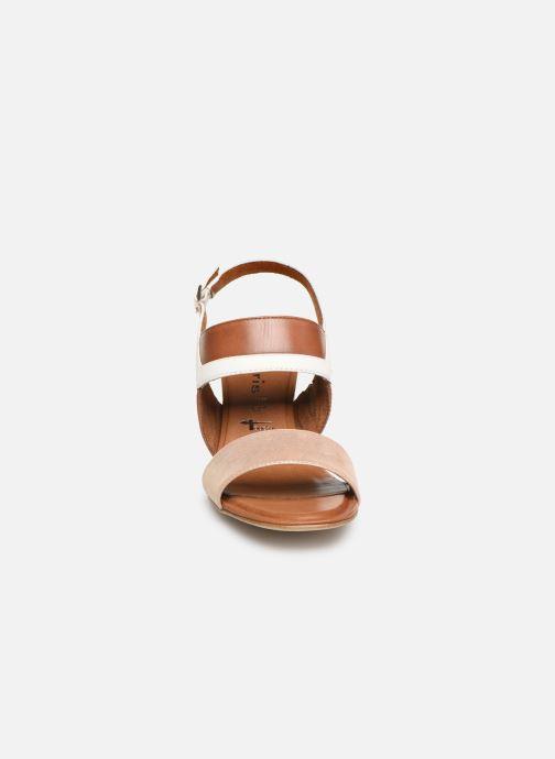 Sandalen Tamaris Almance braun schuhe getragen