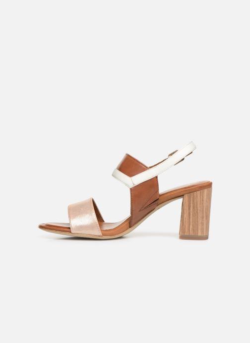 Sandales et nu-pieds Tamaris Almance Marron vue face