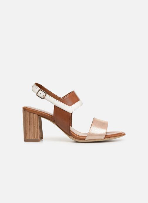 Sandales et nu-pieds Tamaris Almance Marron vue derrière