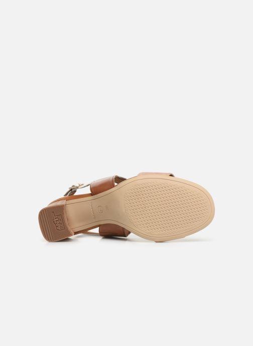 Sandales et nu-pieds Tamaris Almance Marron vue haut