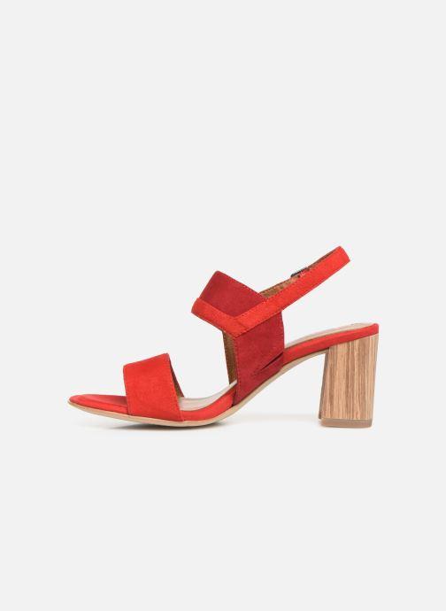 Sandales et nu-pieds Tamaris Almance Rouge vue face