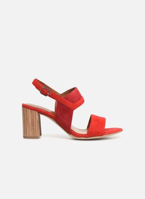 Sandales et nu-pieds Tamaris Almance Rouge vue derrière
