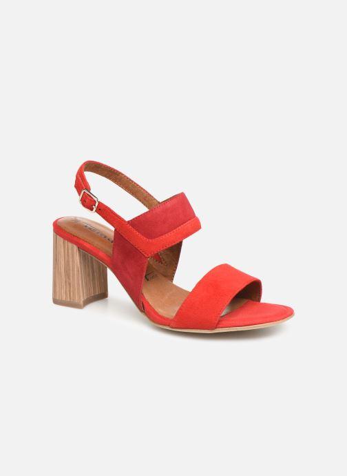 Sandales et nu-pieds Tamaris Almance Rouge vue détail/paire