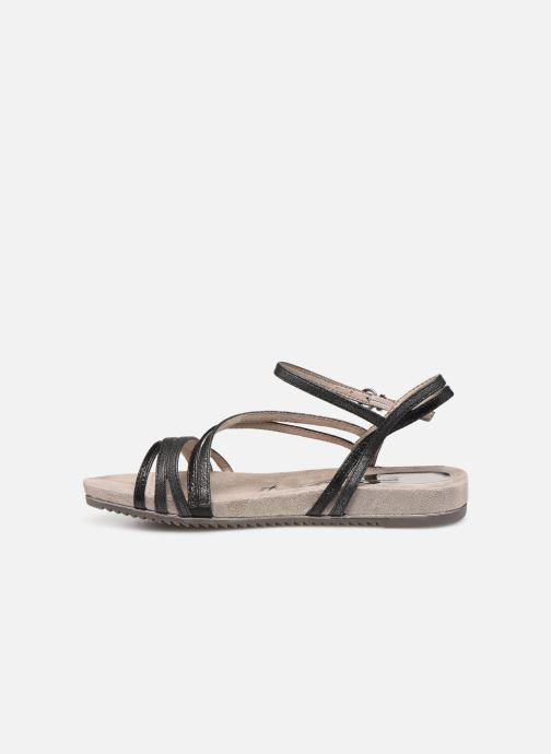 Sandales et nu-pieds Tamaris Barbuise Noir vue face