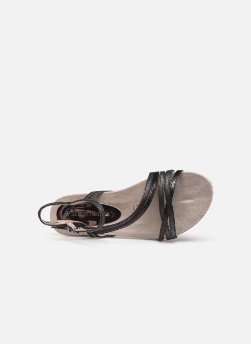 Sandales et nu-pieds Tamaris Barbuise Noir vue gauche