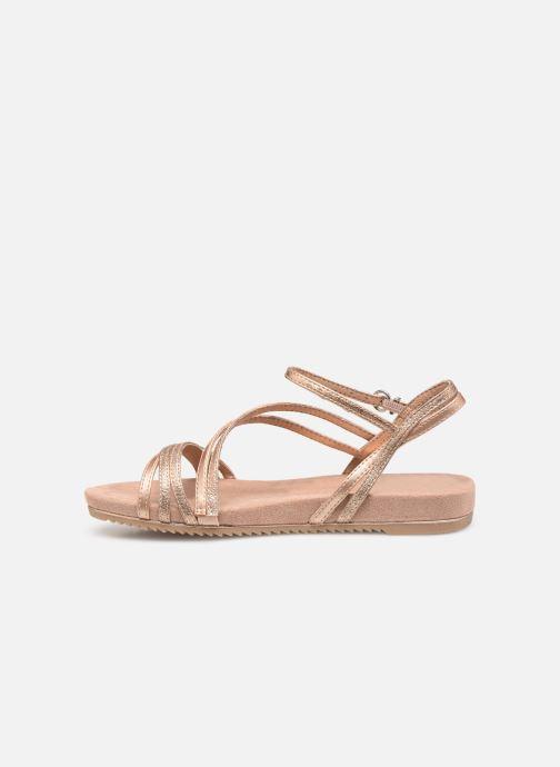 Sandales et nu-pieds Tamaris Barbuise Rose vue face