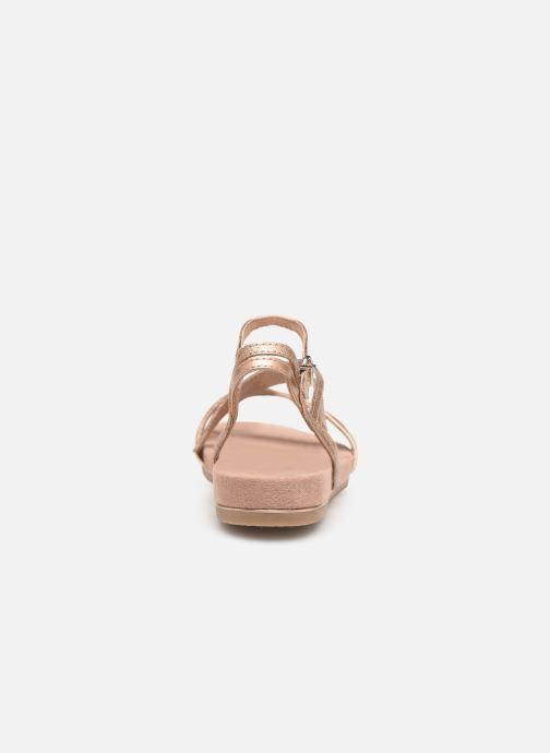Sandales et nu-pieds Tamaris Barbuise Rose vue droite