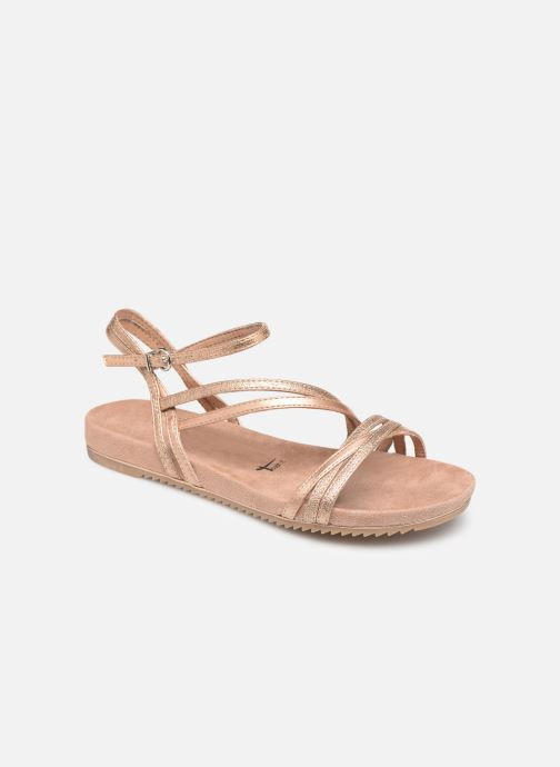 Sandals Tamaris Barbuise Pink detailed view/ Pair view