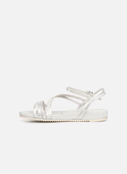 Sandales et nu-pieds Tamaris Barbuise Blanc vue face