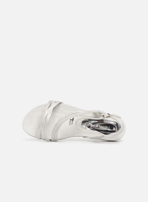 Sandales et nu-pieds Tamaris Barbuise Blanc vue gauche