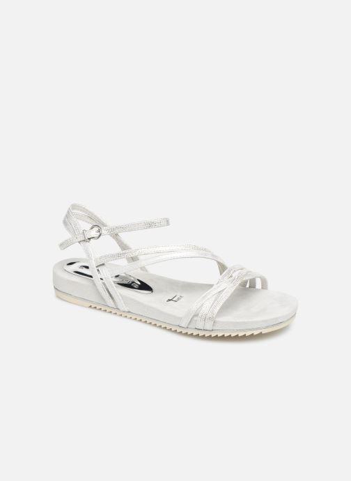Sandales et nu-pieds Tamaris Barbuise Blanc vue détail/paire
