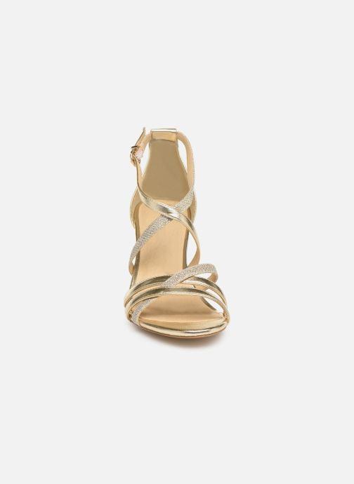 Sandalen Tamaris Petunia gold/bronze schuhe getragen