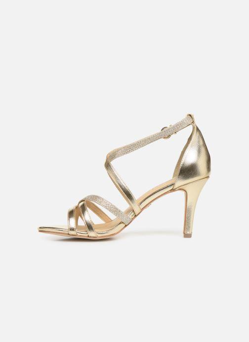 Sandalen Tamaris Petunia gold/bronze ansicht von vorne