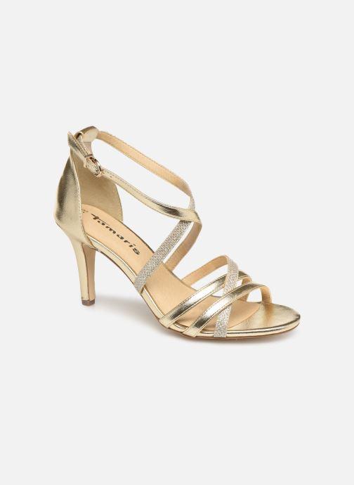 Sandales et nu-pieds Tamaris Petunia Or et bronze vue détail/paire