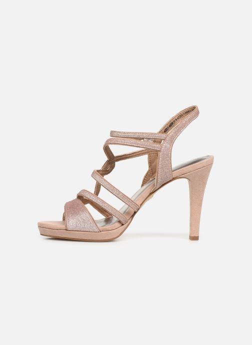 Sandales et nu-pieds Tamaris Agel Rose vue face