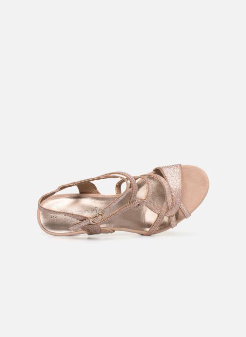Sandales et nu-pieds Tamaris Agel Rose vue gauche