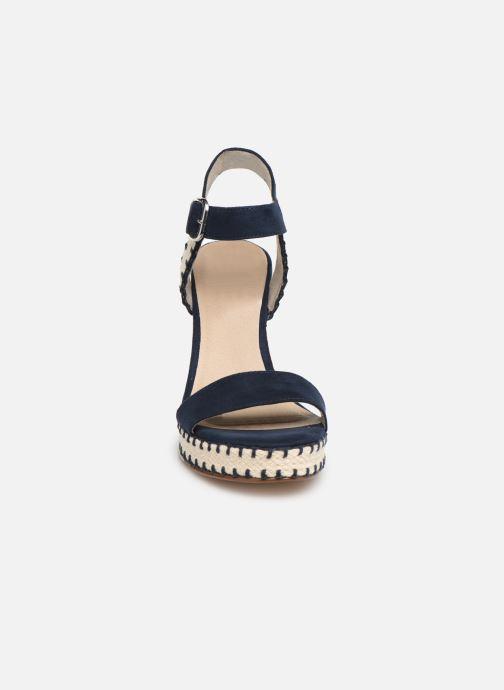 Sandales et nu-pieds Tamaris Aila Bleu vue portées chaussures