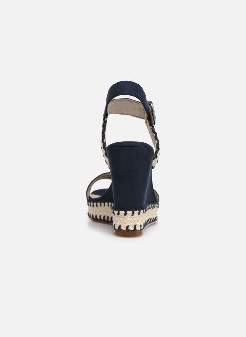 Sandales et nu-pieds Tamaris Aila Bleu vue droite