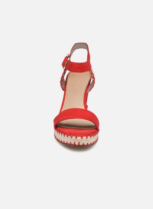 Sandales et nu-pieds Tamaris Aila Rouge vue portées chaussures