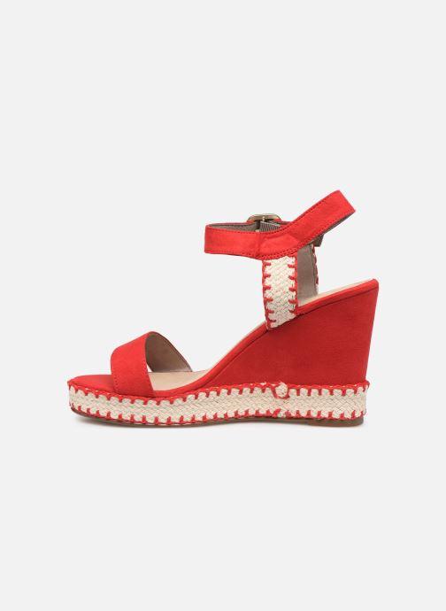 Sandales et nu-pieds Tamaris Aila Rouge vue face