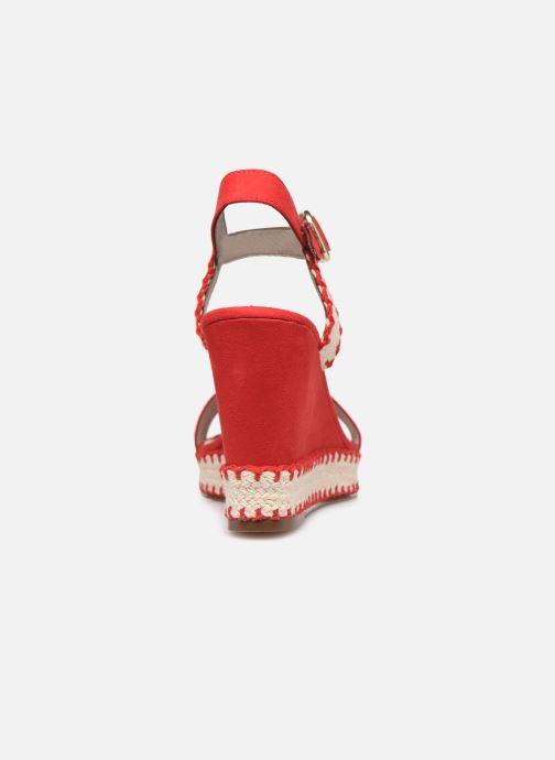 Sandales et nu-pieds Tamaris Aila Rouge vue droite