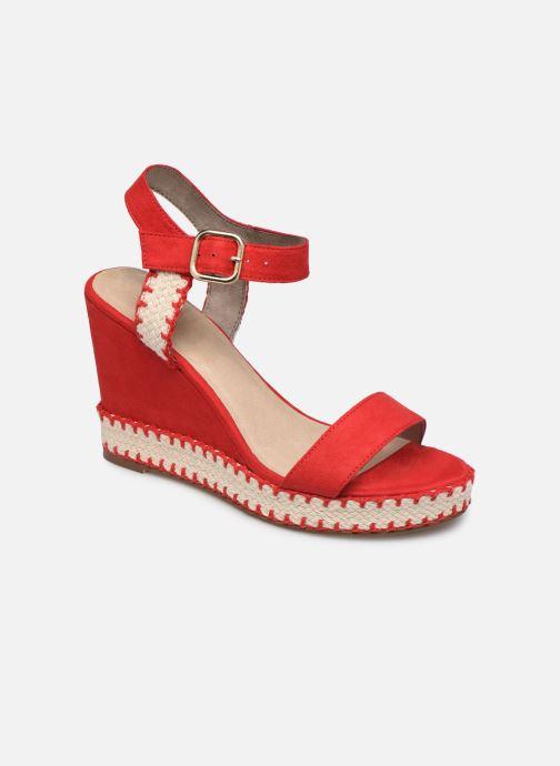 Sandales et nu-pieds Tamaris Aila Rouge vue détail/paire