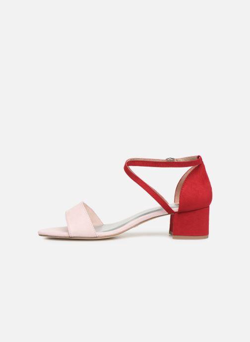 Sandales et nu-pieds Tamaris Tapioca Rose vue face