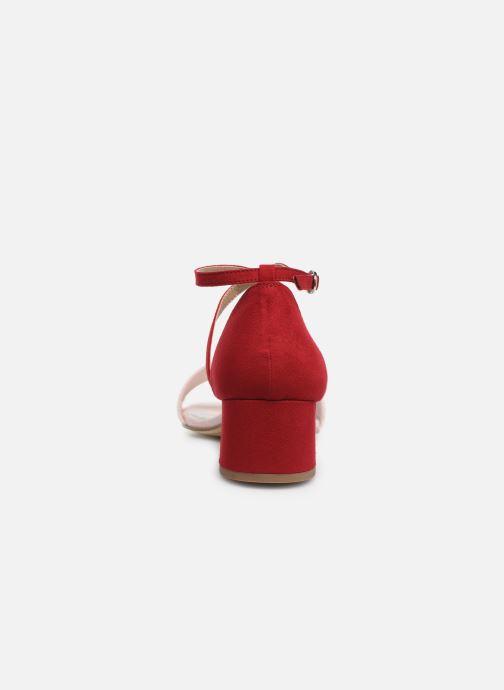 Sandales et nu-pieds Tamaris Tapioca Rose vue droite