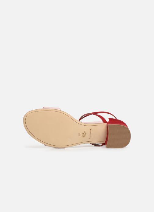 Sandales et nu-pieds Tamaris Tapioca Rose vue haut