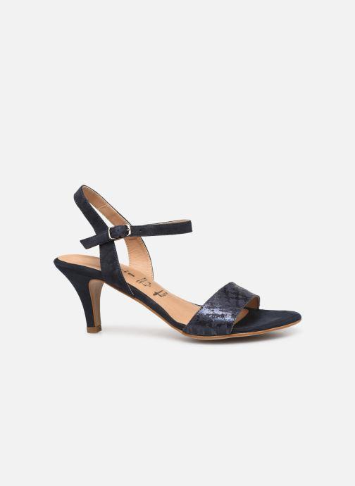 Sandales et nu-pieds Tamaris Papaye Bleu vue derrière