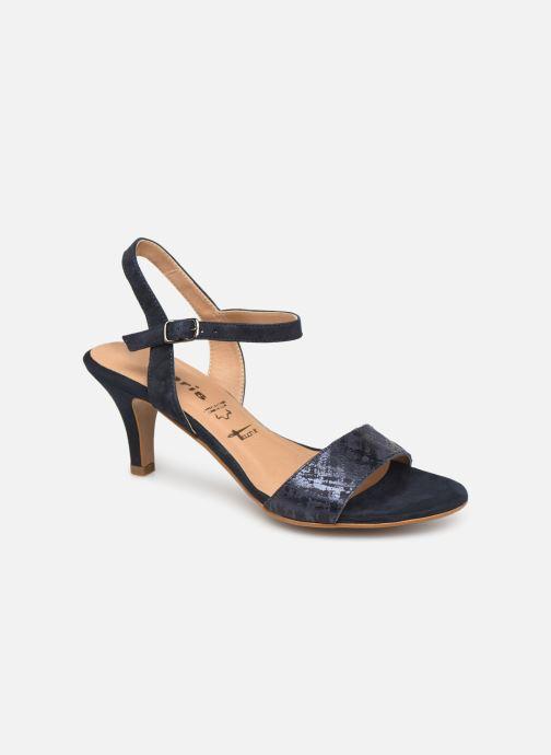Sandales et nu-pieds Tamaris Papaye Bleu vue détail/paire