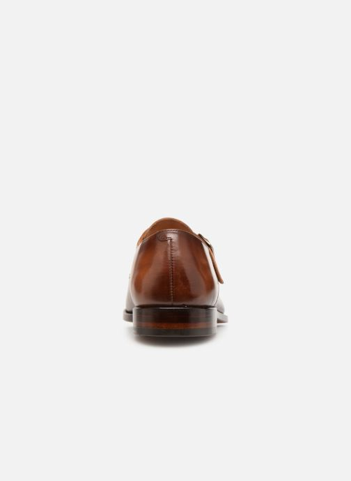 Mocassins Marvin&Co Luxe Caring - Cousu Goodyear Marron vue droite