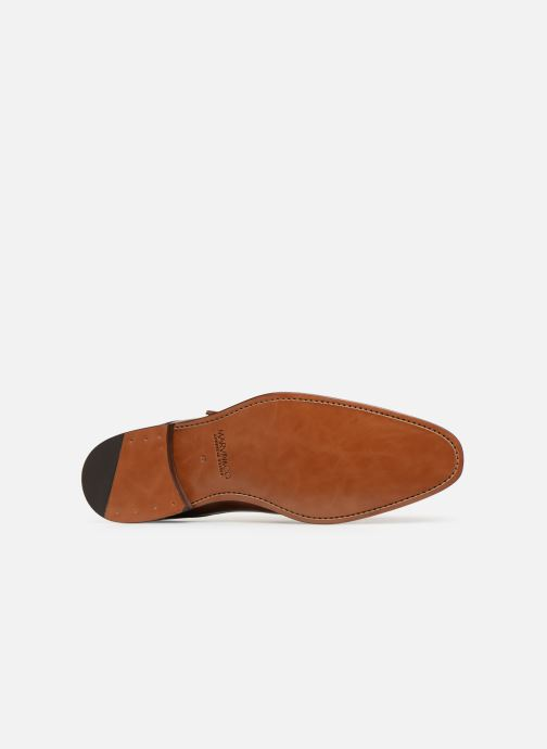 Mocassins Marvin&Co Luxe Caring - Cousu Goodyear Bruin boven
