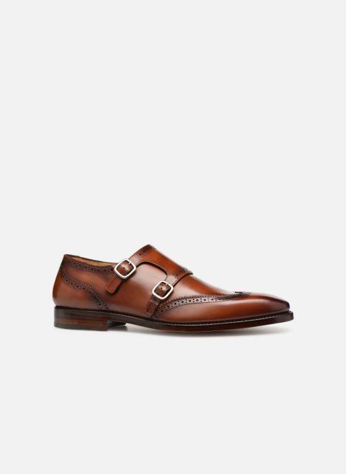 Chaussure à boucle Marvin&Co Luxe Caringle - Cousu Goodyear Marron vue derrière