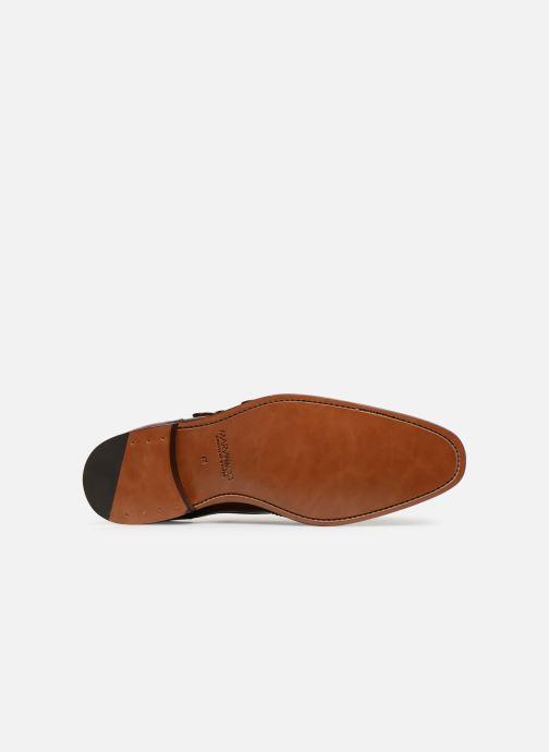 Zapato con hebilla Marvin&Co Luxe Caringle - Cousu Goodyear Marrón vista de arriba