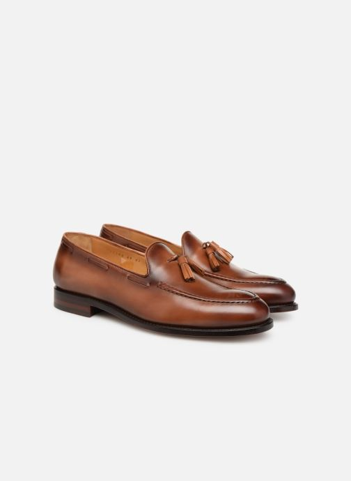 Loafers Marvin&Co Luxe Casselini - Cousu Goodyear Brown 3/4 view