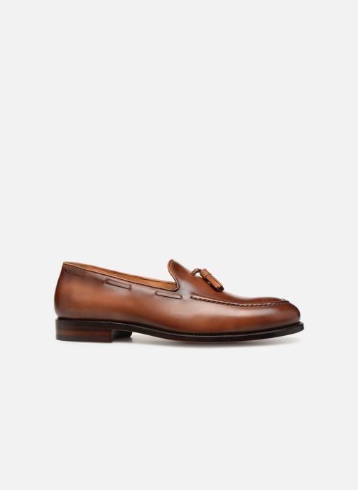 Loafers Marvin&Co Luxe Casselini - Cousu Goodyear Brown back view