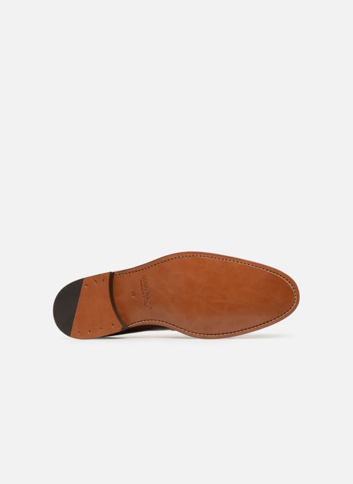 Loafers Marvin&Co Luxe Casselini - Cousu Goodyear Brown view from above