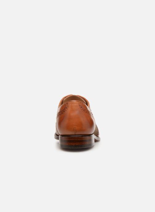 Chaussures à lacets Marvin&Co Luxe Celburg - Cousu Goodyear Marron vue droite