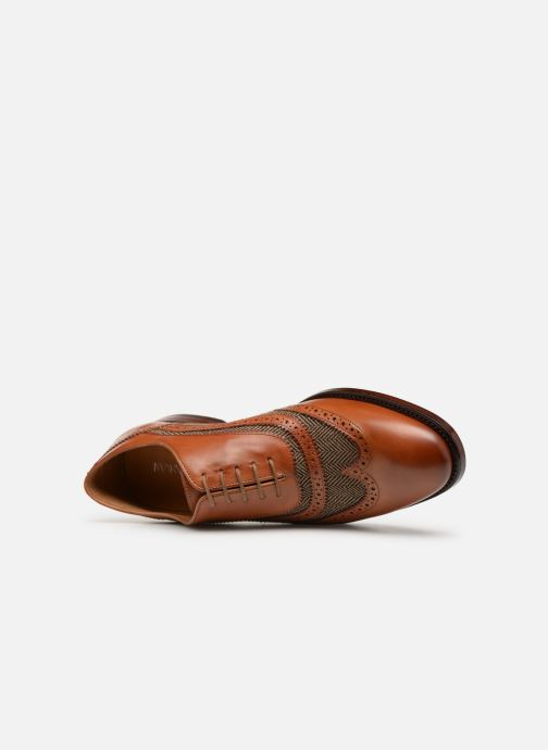 Lace-up shoes Marvin&Co Luxe Celburg - Cousu Goodyear Brown view from the left