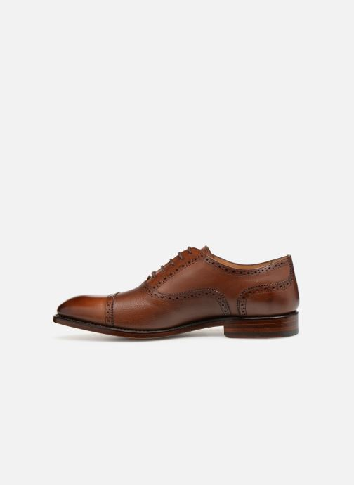Chaussures à lacets Marvin&Co Luxe Celdrow - Cousu Goodyear Marron vue face