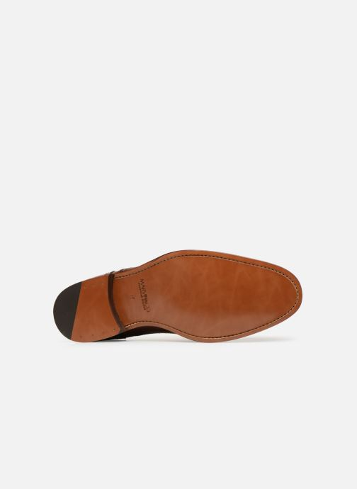 Chaussures à lacets Marvin&Co Luxe Celdrow - Cousu Goodyear Marron vue haut