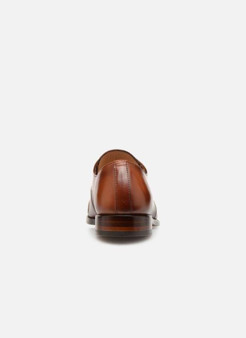 Zapatos con cordones Marvin&Co Luxe Cestephan - Cousu Goodyear Marrón vista lateral derecha