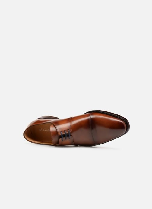 Zapatos con cordones Marvin&Co Luxe Cestephan - Cousu Goodyear Marrón vista lateral izquierda